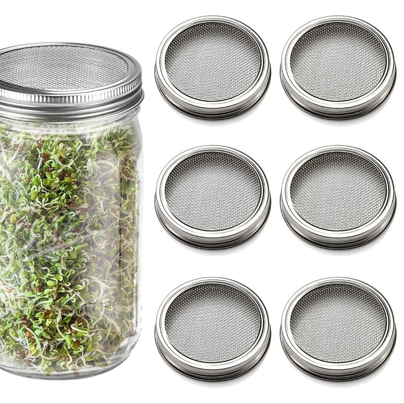 Stainless Steel Sprouting lid 70mm/86mm